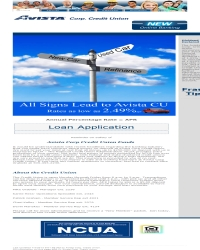 Avista Corp. Credit Union