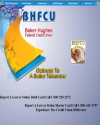 Baker Hughes Federal Credit Union
