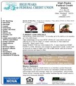 High Peaks Federal Credit Union