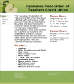 Kankakee Federation Of Teachers Credit Union