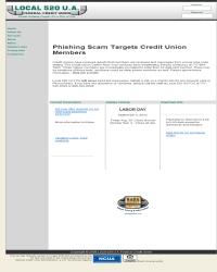 Local 520 U A Federal Credit Union