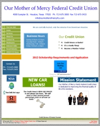Our Mother Of Mercy Parish Houston Federal Credit Union