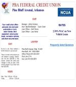 Pba Federal Credit Union