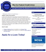 Wor Co Federal Credit Union