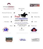 Postal & Community Credit Union